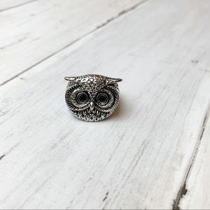Anthropologie owl ring // women